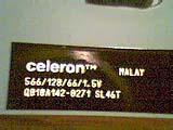 Celeron 566 S/N