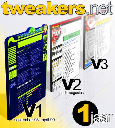 Tweakers.net bestaat 1 jaar