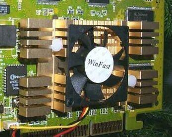 Leadtek WinFast DDR RevB heatsink
