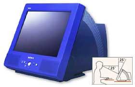 HMD-Y200, een bijzonder gevormde monitor