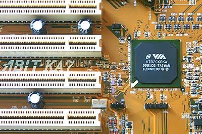 Abit KA7 review: VIA KX133 chipset