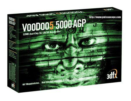 3dfx Voodoo5 5000 box shot