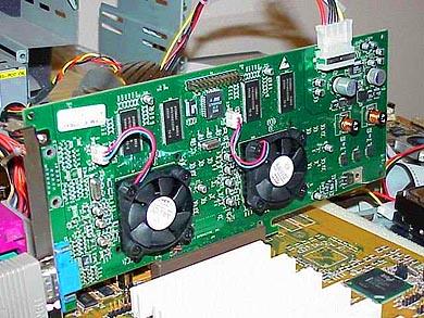 3dfx Voodoo5 5500 AGP alpha board