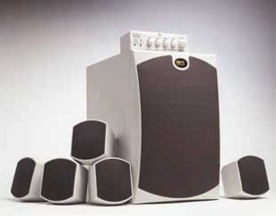 Midiland S4/7100 5.1 speakerset