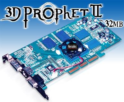Guillemot persconferentie: 3D Prophet II GTS