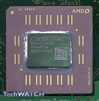 AMD Athon 700 is eigenlijk 650