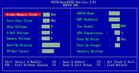 Press Release: AOpen PA256 Open BIOS