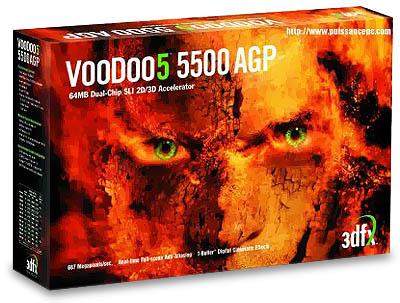 3dfx Voodoo5 5500 boxshot