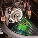Micron wafer saw
