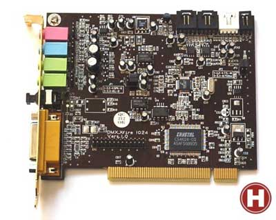 TerraTec Soundsystem DMX XFire 1024