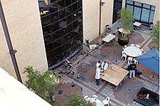 Bomaanslag op Microsoft kantoor