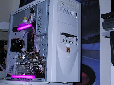 Neon Case Lighting