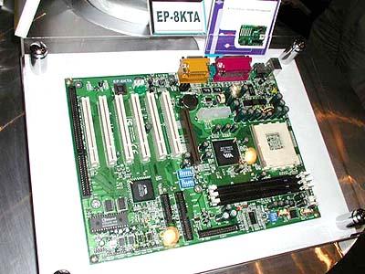 KT133 mobo\'s op Computex: Epox EP-8KTA