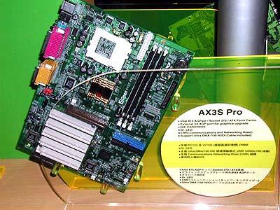 Intel 8xx mobo\'s op Computex: AOpen AX3S Pro (i815)