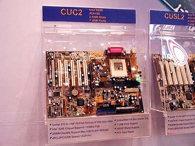 Intel 8xx mobo\'s op Computex: Asus CUC2 (i820E)