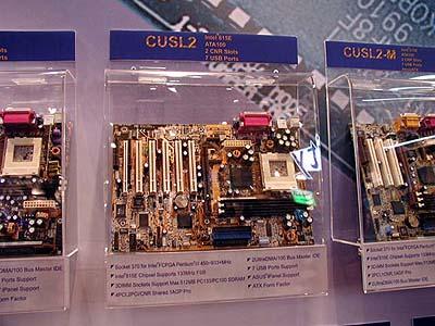 Intel 8xx mobo\'s op Computex: Asus CUSL2 (i815E)