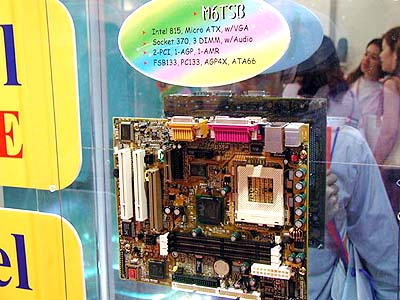 Intel 8xx mobo\'s op Computex: Biostar M6TSB (i815)