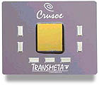 Transmeta Crusoe processor (klein)