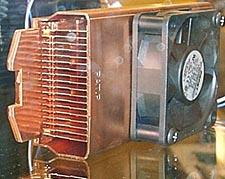 Computex 2000: koperen heatsinks