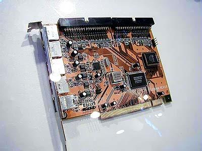 Computex 2000: LuckyStar USB+IDE controller