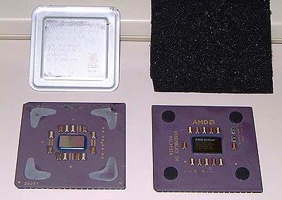 AMD Athlon / Thunderbird vs K6-2 (groot)