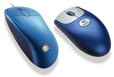 Logitech Mouseman Wheel en Wheel Mouse