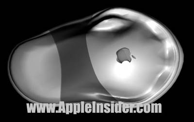 Button-loze Apple muis