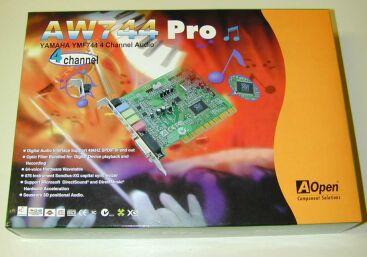 Aopen AW744 Descargar Controlador