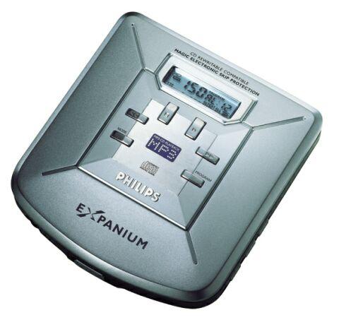 Philips Expanium MP3- CD speler