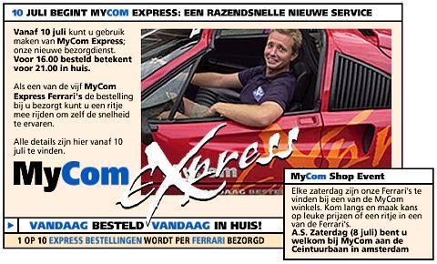Mycom Express dienst