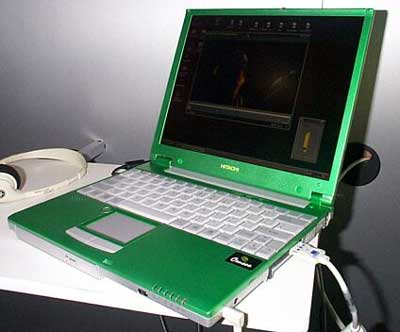 Crusoe powered Hitachi Notebook