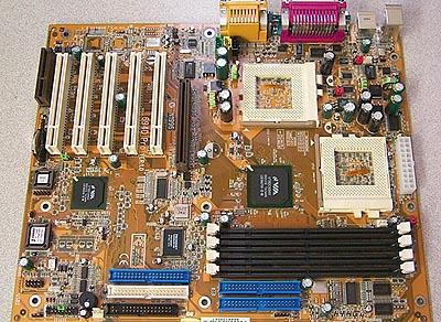 MSI 694D Pro dual VIA 133A plank
