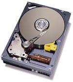 IBM Deskstar drive (klein)