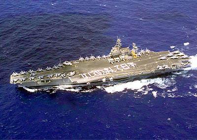 USS Kitty Hawk vliegdekschip