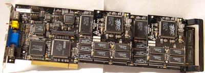Quantum3D Obsidian SB100-4440 (3dfx Voodoo1 SLI 12MB PCI)