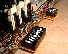 Duron 600 op 900MHz met FIC AZ-11 modificatie