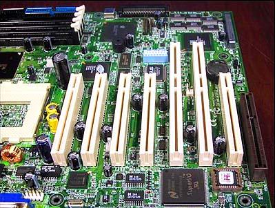 Asus CUR-DLS PCI slots