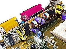 Asus A7V riser board