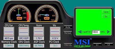 MSI K7T Pro Fuzzy-Logic Progje
