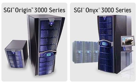 Silicon Graphics Origin en Onyx 300 Series