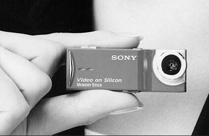 Sony\'s mini DigiCam prototype