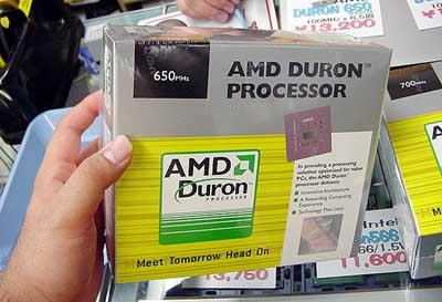 AMD Duron in a box
