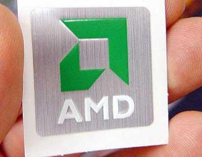 AMD Duron Casebadge