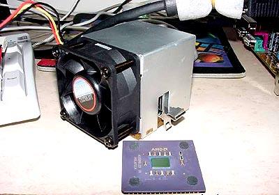 AMD Duron 600 op 1200MHz