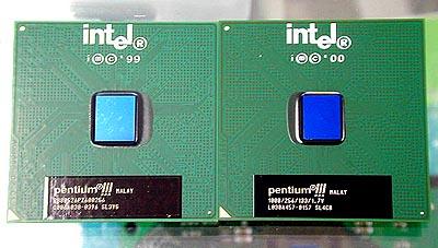 1GHz FC-PGA Pentium III met kleinere B-0 core