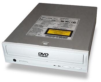 Shuttle Spacewalker 10X DVD drive (groot)