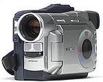 Hitachi DZ-MV100 DVD-RAM camcorder (klein)