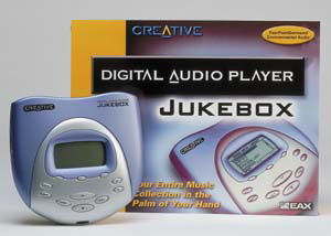 Creative Digital Audio Player Jukebox