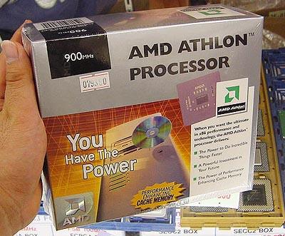 Boxed Athlon 900