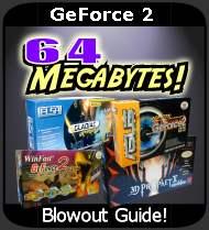 64MB GeForce2 shootout @ Gamers Depot.com